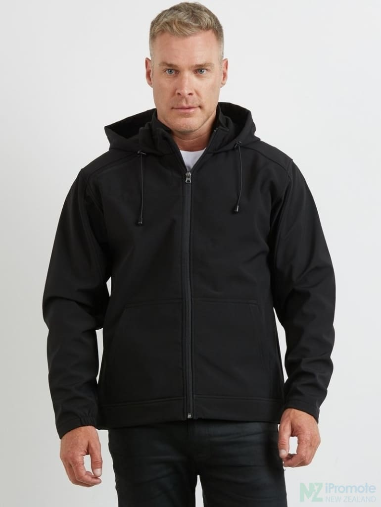3K Soft Shell Hooded Jacket Jackets