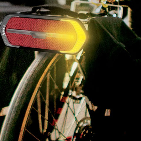 Bicycle Turn Signal and Auto Brake Light