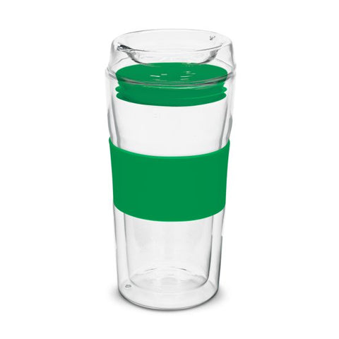 Image of Double Wall 350ml Glass Cup