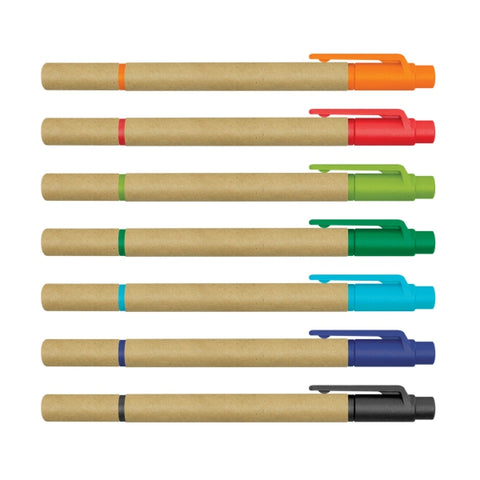 Eco Cardboard Pen with Highlighter