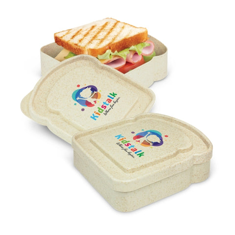 Eco Inspired Single Sandwich Box