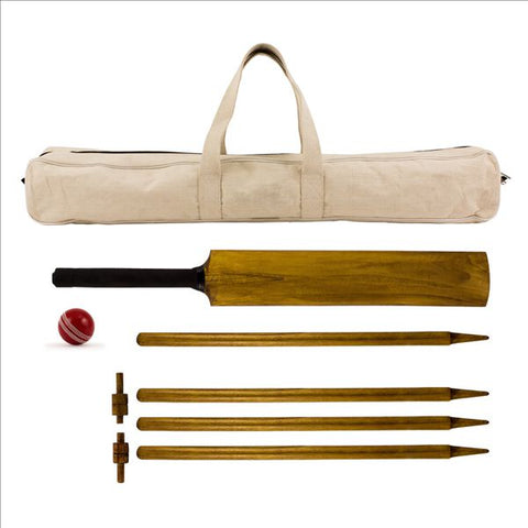 Image of HOWZAT Outdoor Vintage look Cricket Set