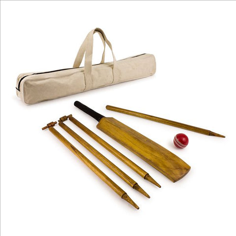 HOWZAT Outdoor Vintage look Cricket Set