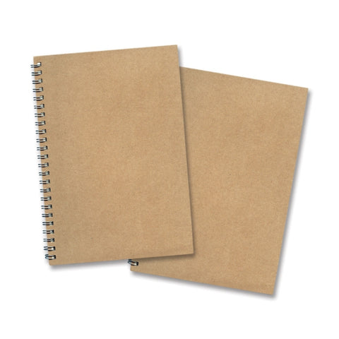 Medium Size Spiral Eco Notebook