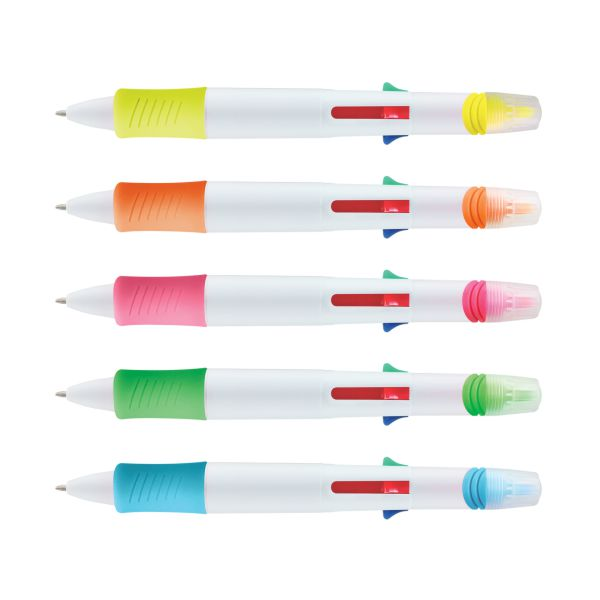 Multifunction 4 Ink Colour Pen