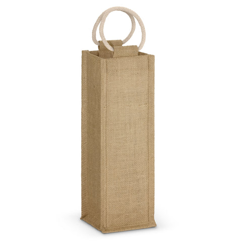 Single Bottle Jute Bag