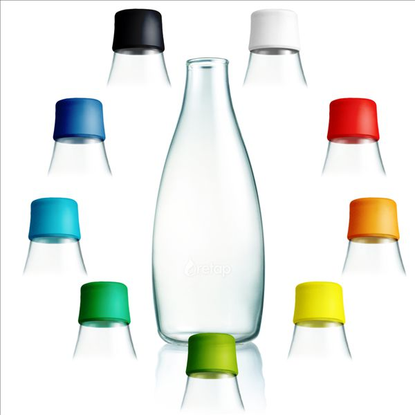 Scandinavian design 800ml Glass Bottle