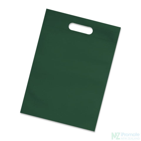 A4 Size Catalogue Tote Bag Dark Green Document Bag