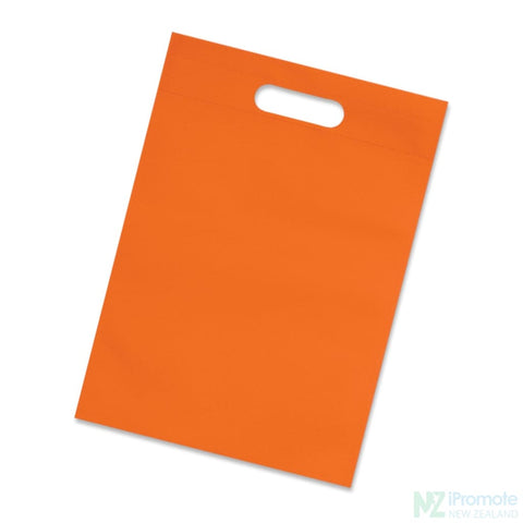 Image of A4 Size Catalogue Tote Bag Orange Document Bag