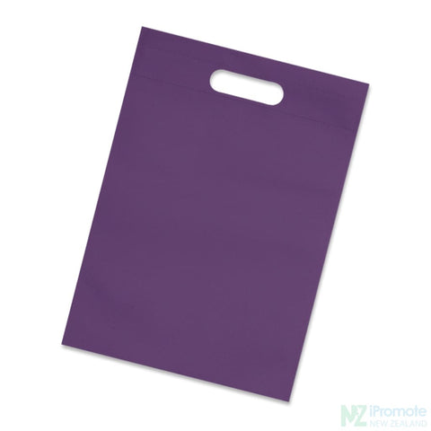 Image of A4 Size Catalogue Tote Bag Purple Document Bag