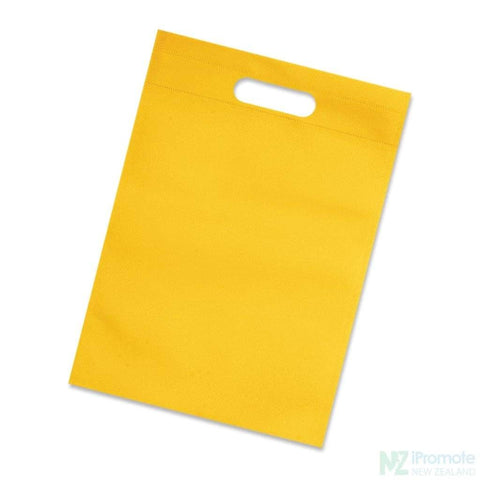 A4 Size Catalogue Tote Bag Yellow Document Bag