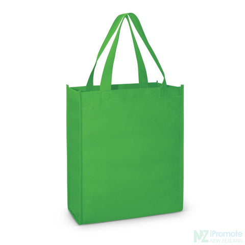 Image of A4 Tote Bag With Gusset Bright Green Bags