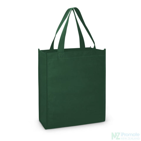 A4 Tote Bag With Gusset Dark Green Bags