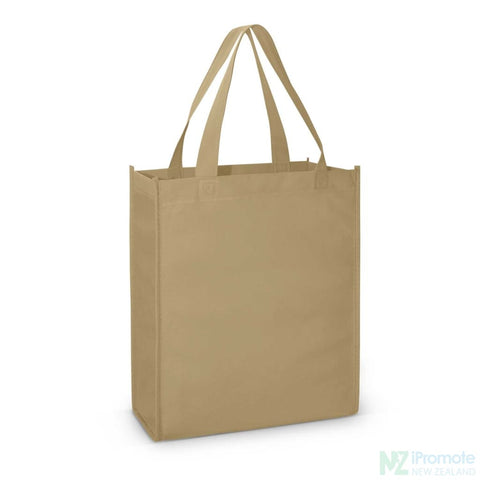 Image of A4 Tote Bag With Gusset Khaki Bags