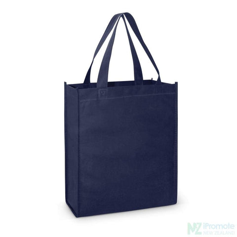 A4 Tote Bag With Gusset Navy Bags