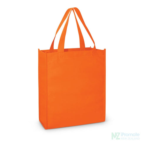 A4 Tote Bag With Gusset Orange Bags