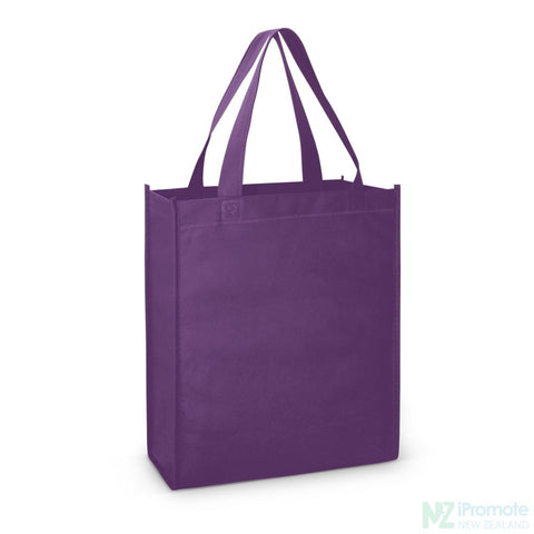 Image of A4 Tote Bag With Gusset Purple Bags