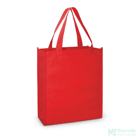 Image of A4 Tote Bag With Gusset Red Bags