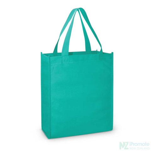 A4 Tote Bag With Gusset Teal Bags