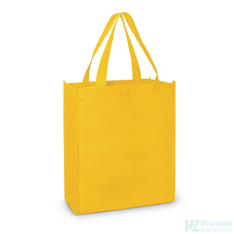 A4 Tote Bag With Gusset Yellow Bags