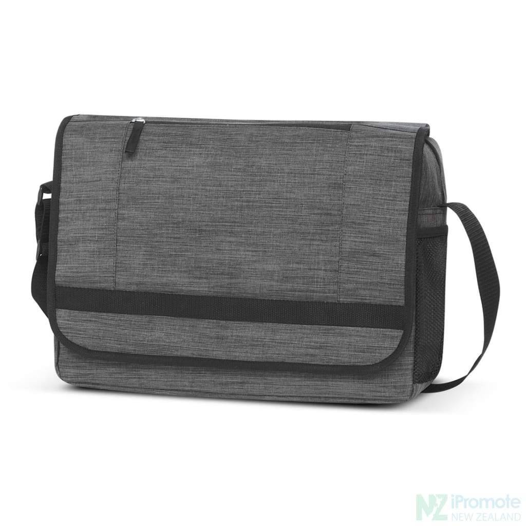 Academy Messenger Bag Grey Bags