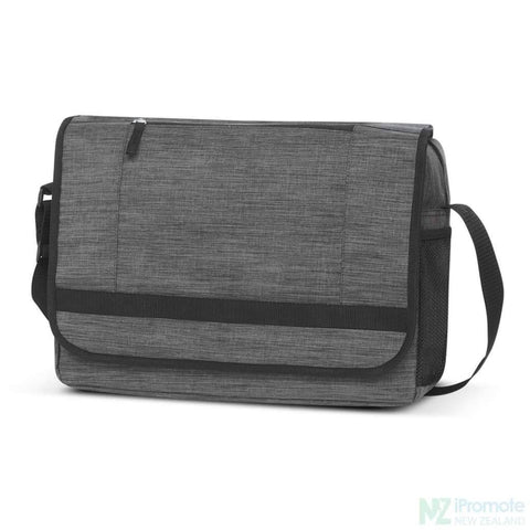 Image of Academy Messenger Bag Grey Bags