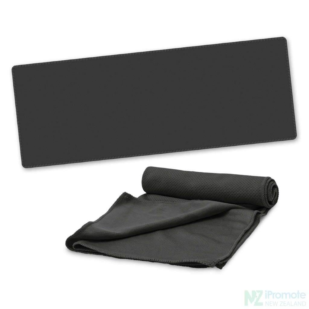 Active Cooling Sports Towel Black