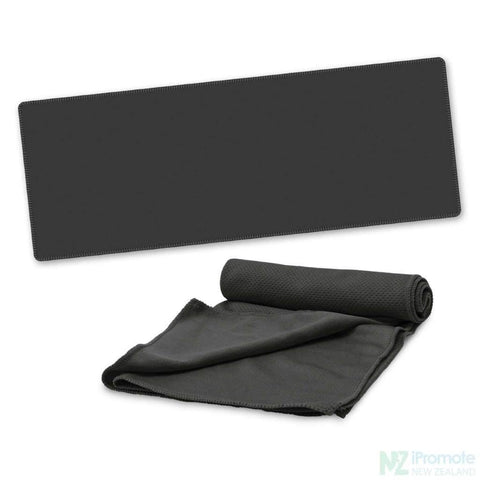 Image of Active Cooling Sports Towel Black