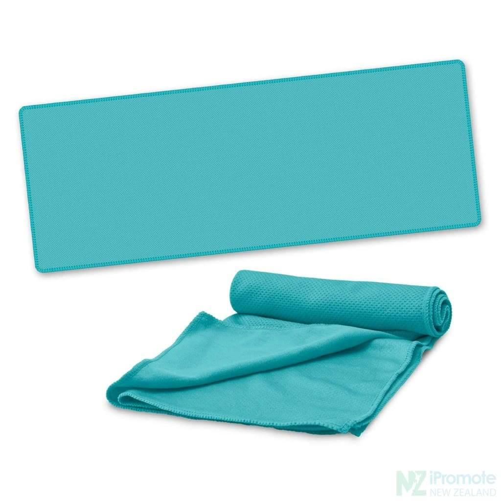 Active Cooling Sports Towel Light Blue