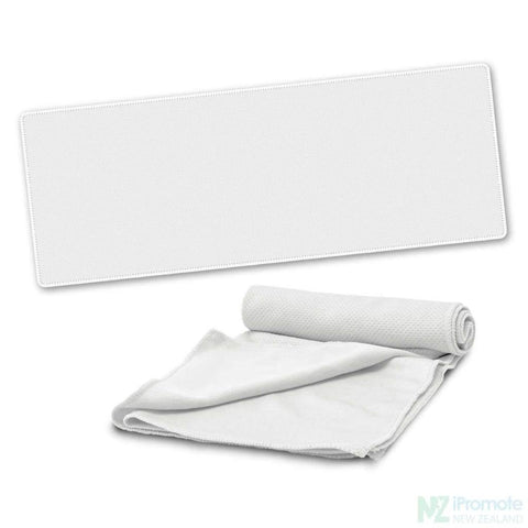 Active Cooling Sports Towel White