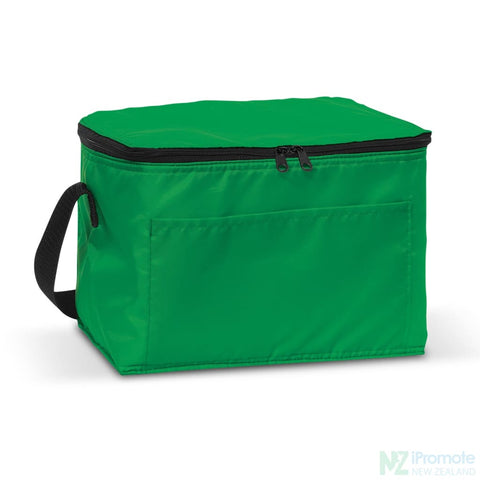 Image of Alaska 6 Can Cooler Dark Green Bag