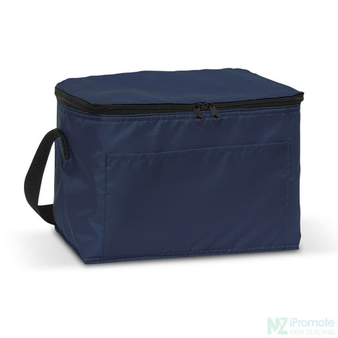 Image of Alaska 6 Can Cooler Navy Bag