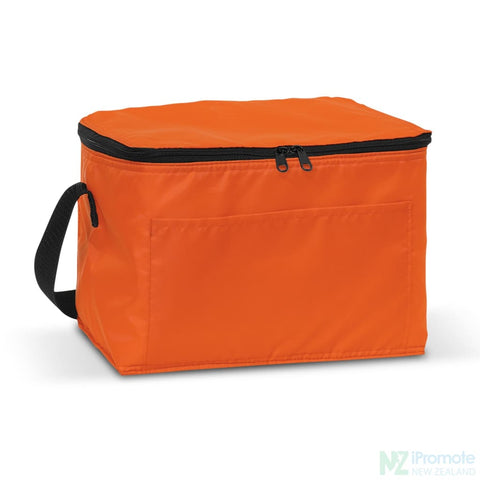 Image of Alaska 6 Can Cooler Orange Bag