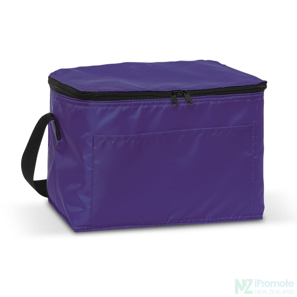 Alaska 6 Can Cooler Purple Bag