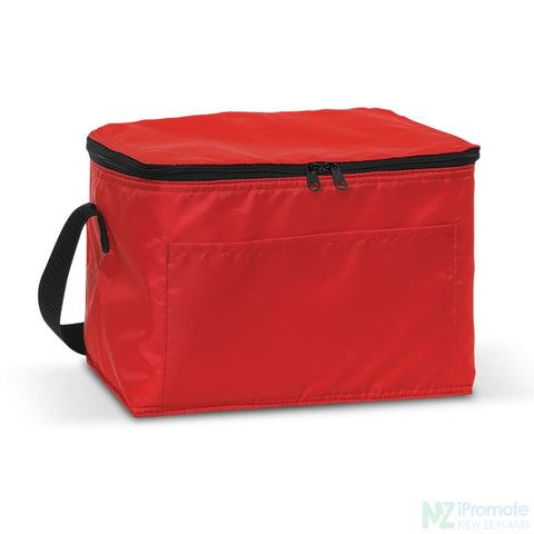 Image of Alaska 6 Can Cooler Red Bag
