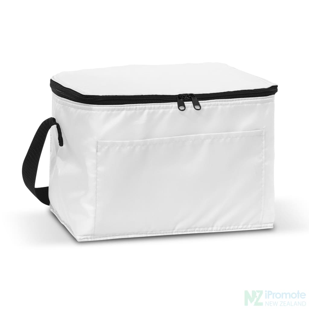 Alaska 6 Can Cooler White Bag