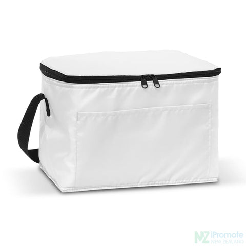 Image of Alaska 6 Can Cooler White Bag