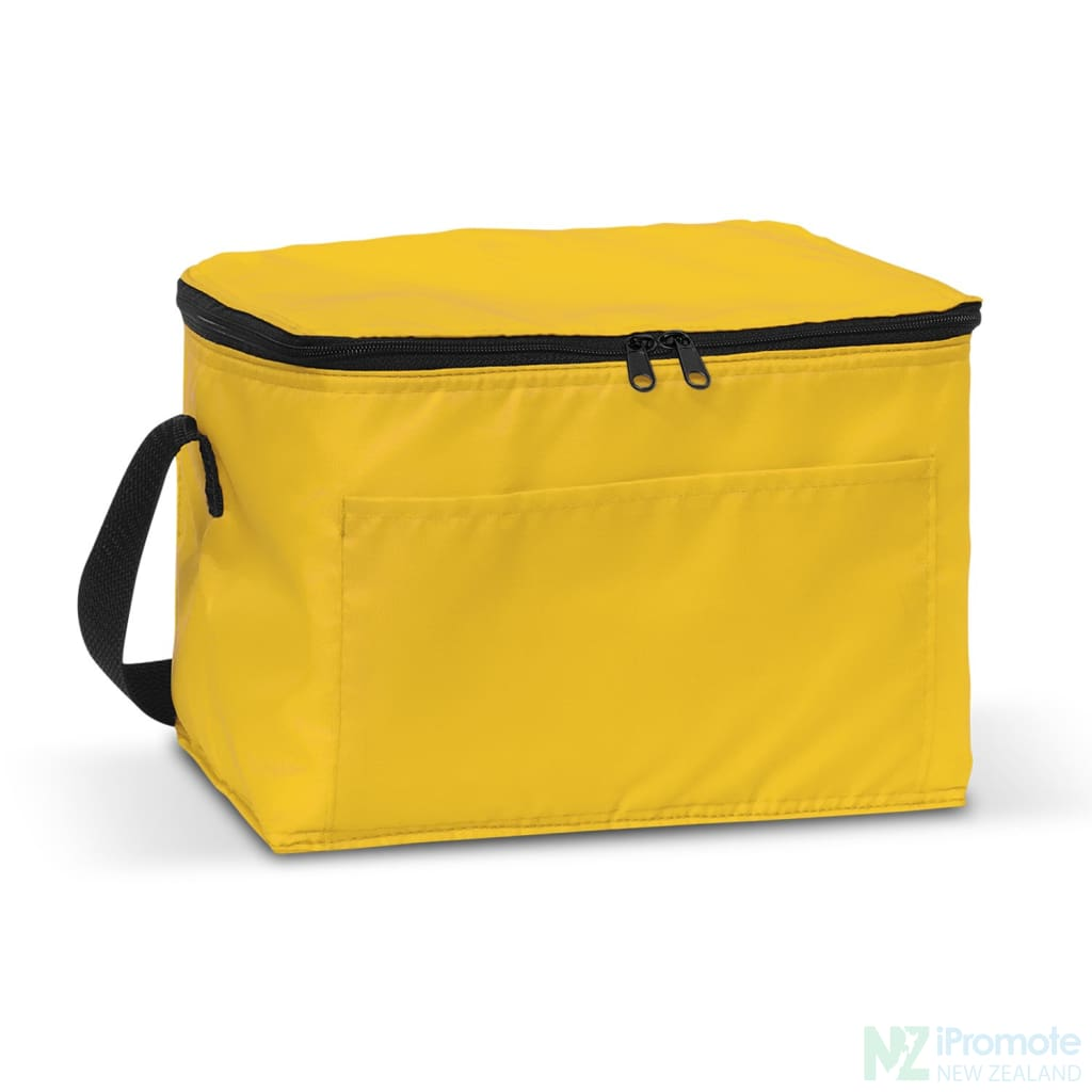 Alaska 6 Can Cooler Yellow Bag
