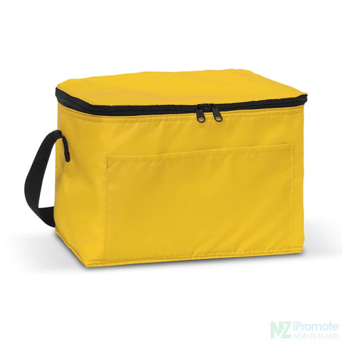 Image of Alaska 6 Can Cooler Yellow Bag