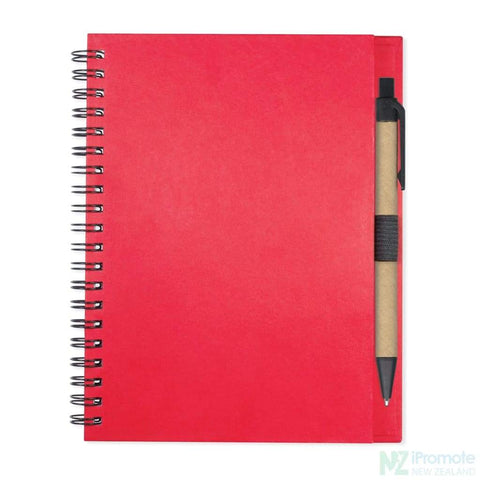 Image of Allegro Notebook Red Notebooks
