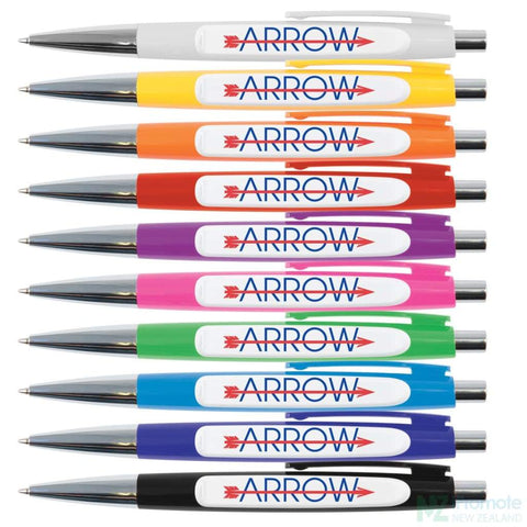 Image of Arrow Ballpoint Pen Plastic Pens