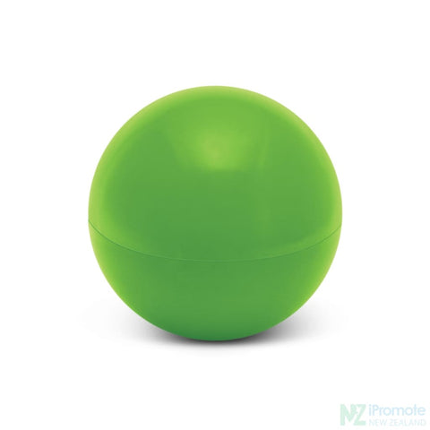 Image of Ball Shaped Lip Balm In Assorted Colours Green