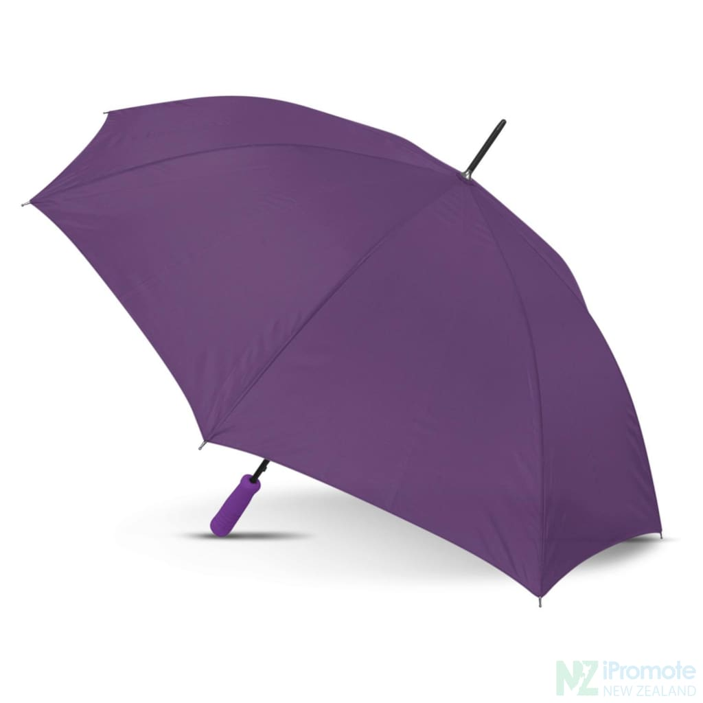Budget Umbrella 59Cm Purple Umbrellas