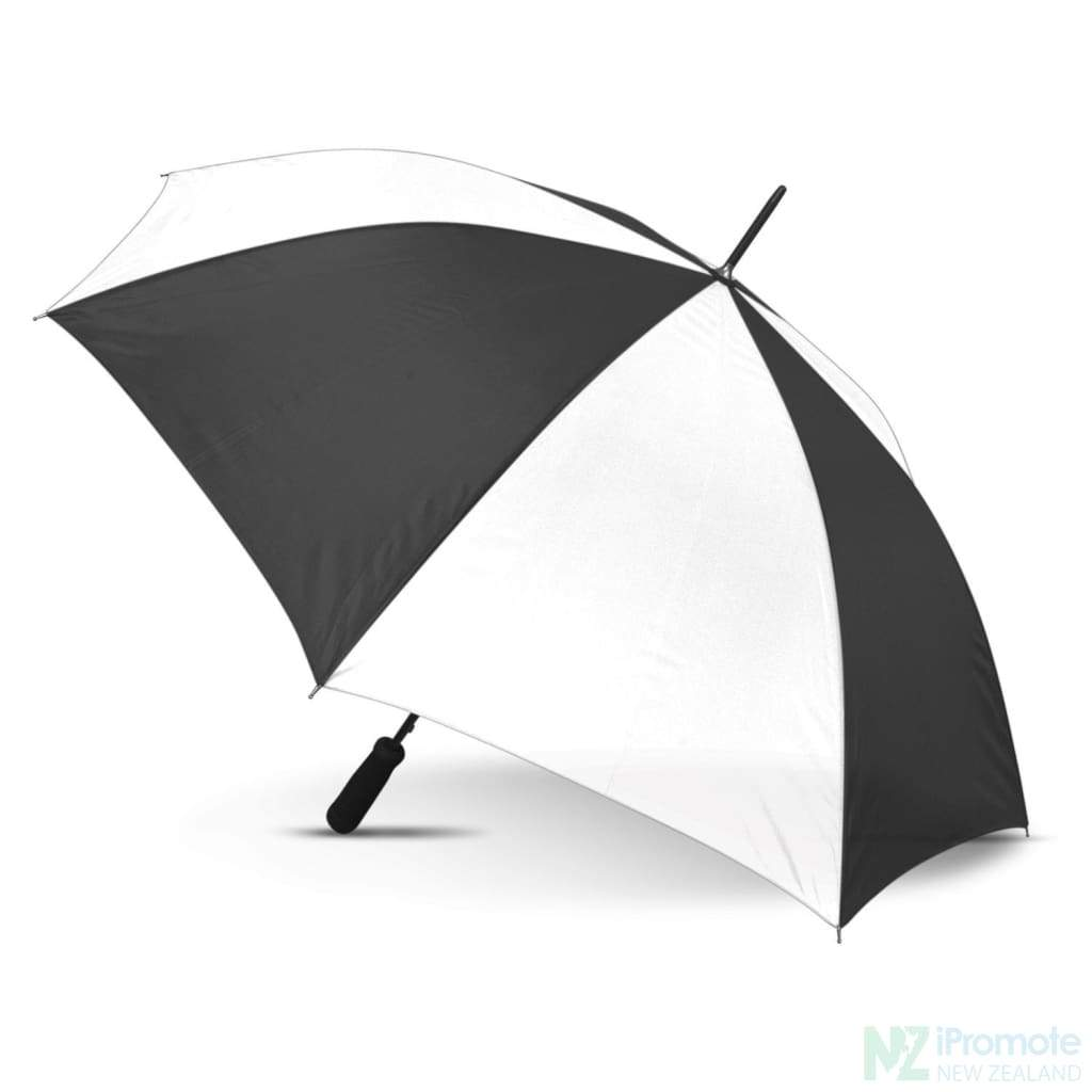 Budget Umbrella 59Cm White/black Umbrellas