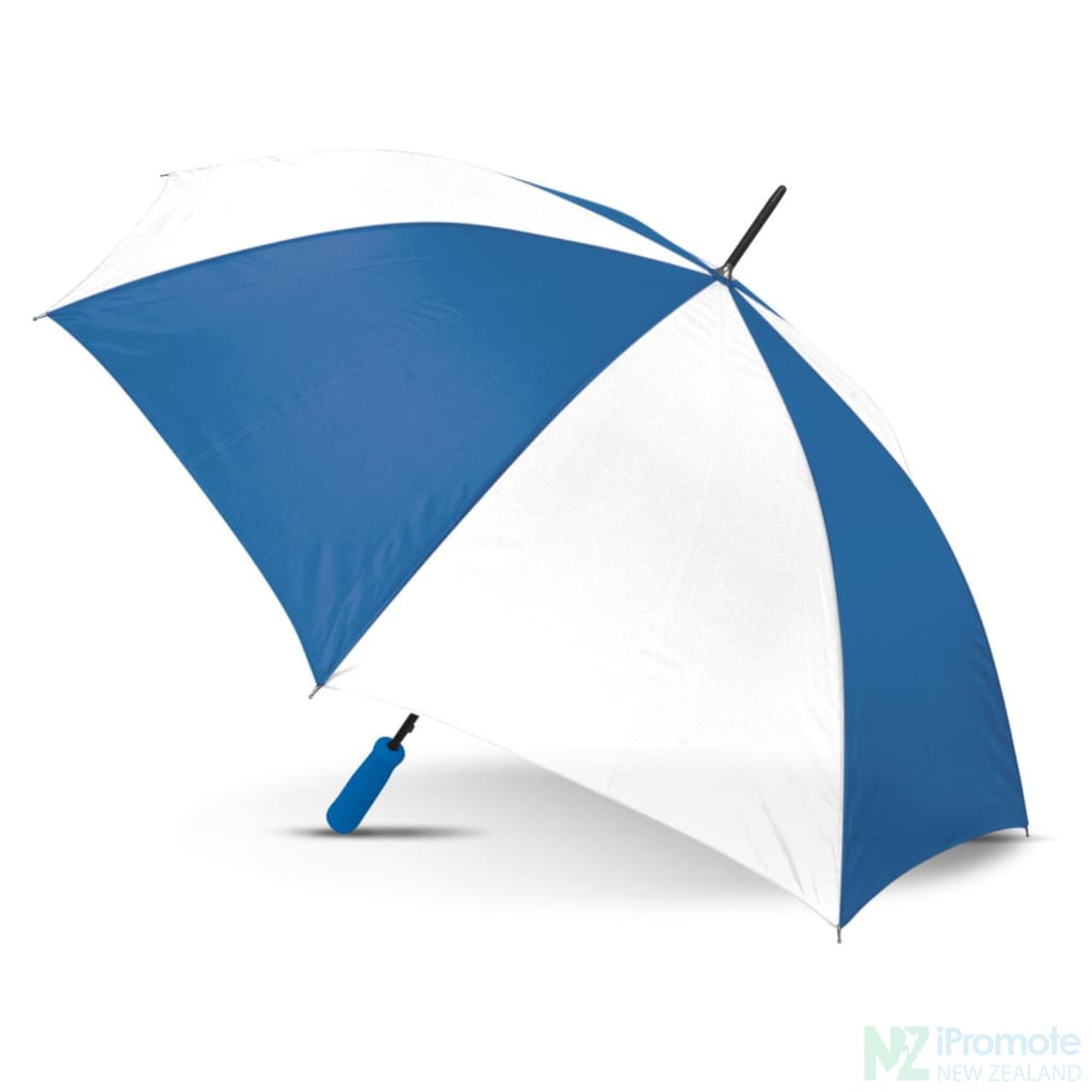 Budget Umbrella 59Cm White/dark Blue Umbrellas