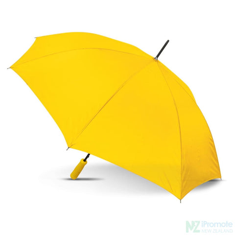 Budget Umbrella 59Cm Yellow Umbrellas