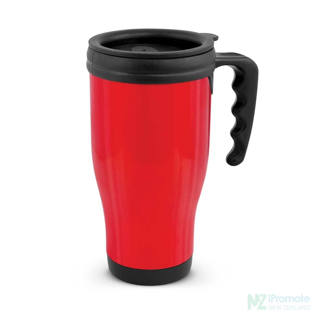 Classic Commuter Travel Mug Red