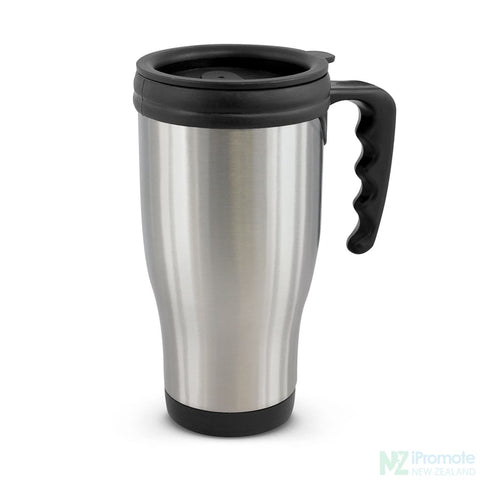 Classic Commuter Travel Mug Silver