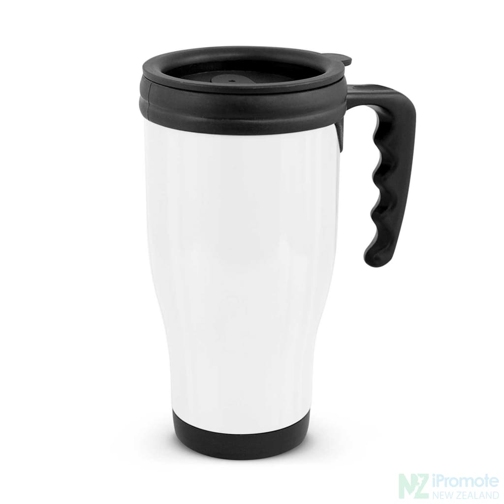 Classic Commuter Travel Mug White