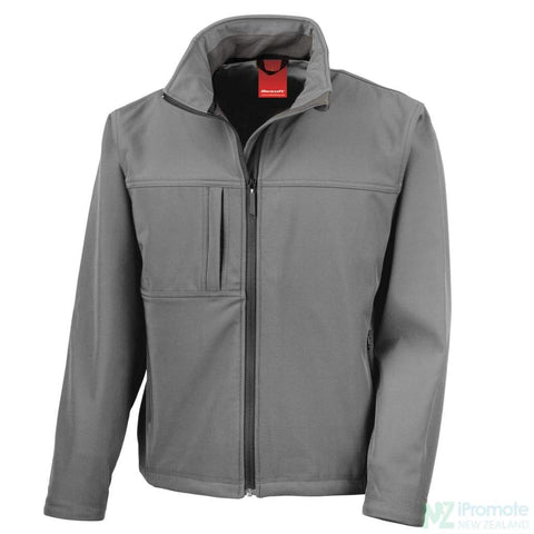 Classic Softshell Jacket Grey Jackets